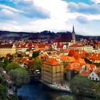 Czech Krumlov and surroundings